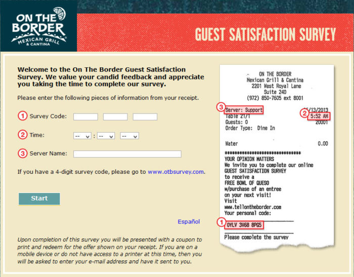 On-The-Border-Guest-Satisfaction-Survey